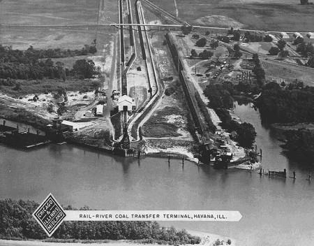 CI&M rail-river transfer facility.