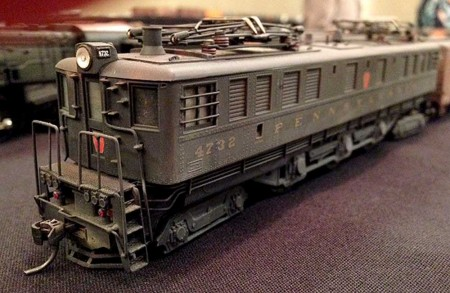 One of many impressive models Bruce Smith had on display. Photo courtesy of Jeff Sankus.