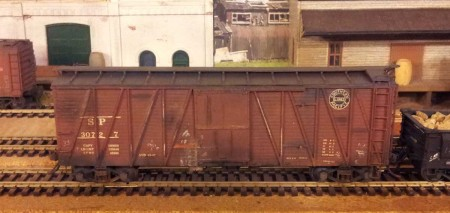 Sunshine Models Southern Pacific B-50-14 box car.