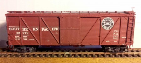 Sunshine Models Southern Pacific B-50-15 box car.