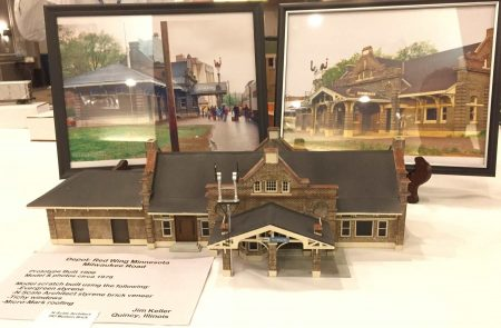 Jim Keller displayed this scratchbuilt Red Wing depot.