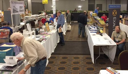 This is just one of the aisles in the vendor area and a wide variety of models, tools, kits, and publications were available to review and purchase.