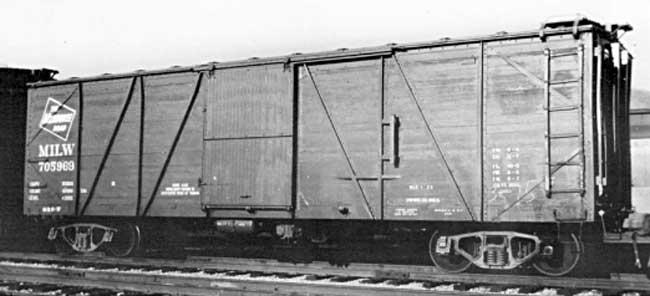 Milwaukee Single Sheathed Box Car Resin Car Works Blog