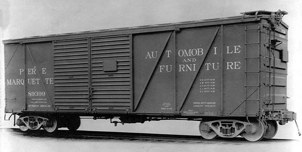 Pere Marquette automobile boxcar